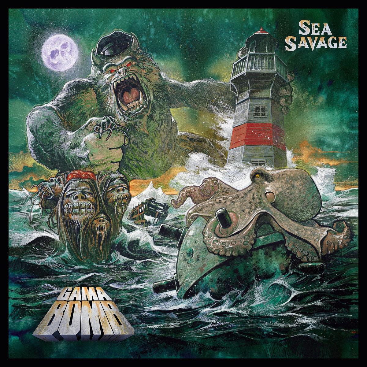 GAMA BOMB : les détails du nouvel album Sea Savage ; le clip vidéo de la chanson éponyme