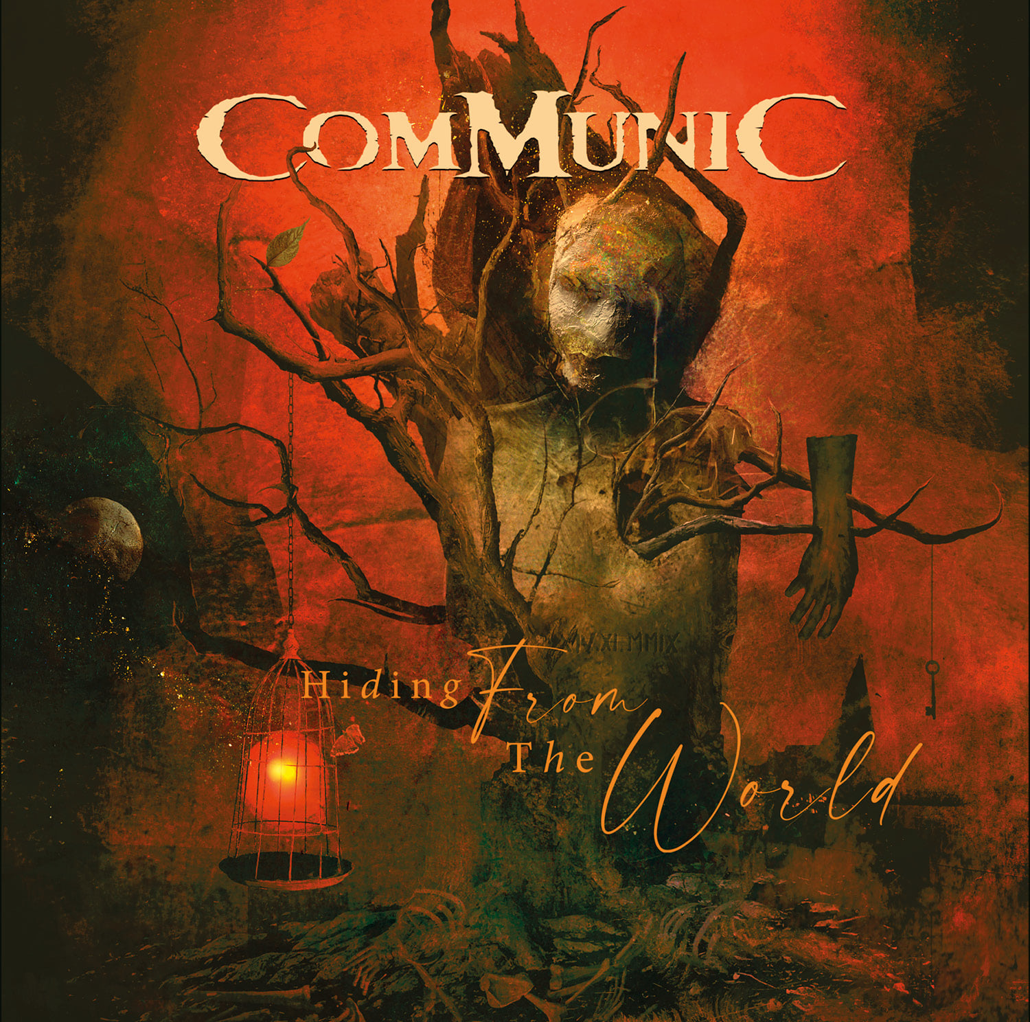 communic hiding from the world cover artwork