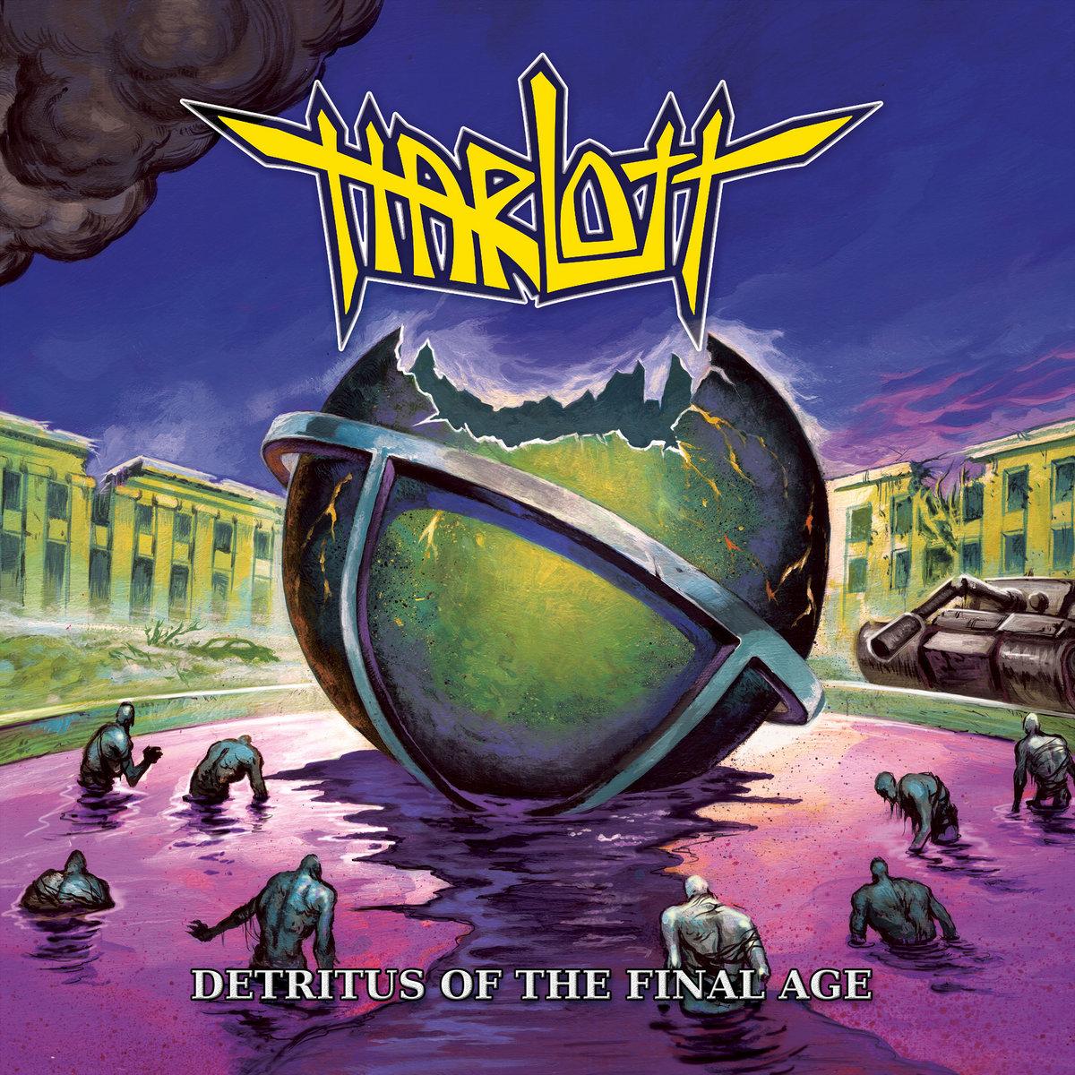 HARLOTT : les détails du nouvel album Detritus Of The Final Age ; chanson «As We Breach» dévoilée