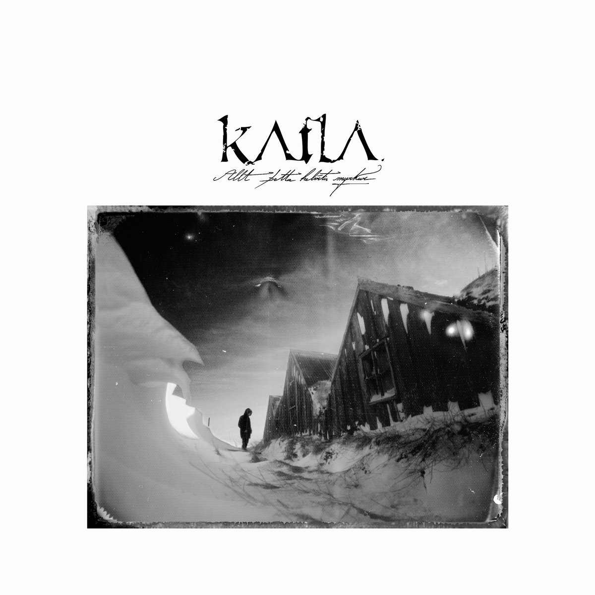katla Allt Betta Helvítis Myrkur album cover artwork