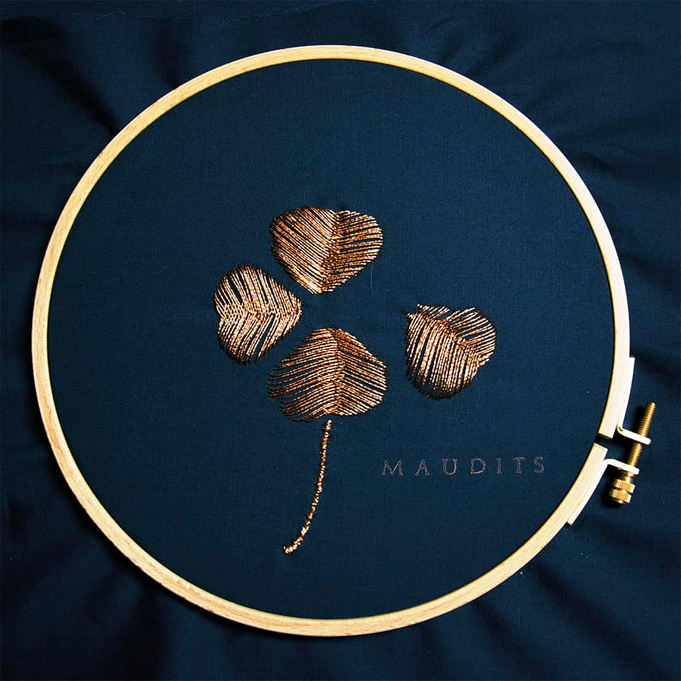 maudits vinyle cover artwork