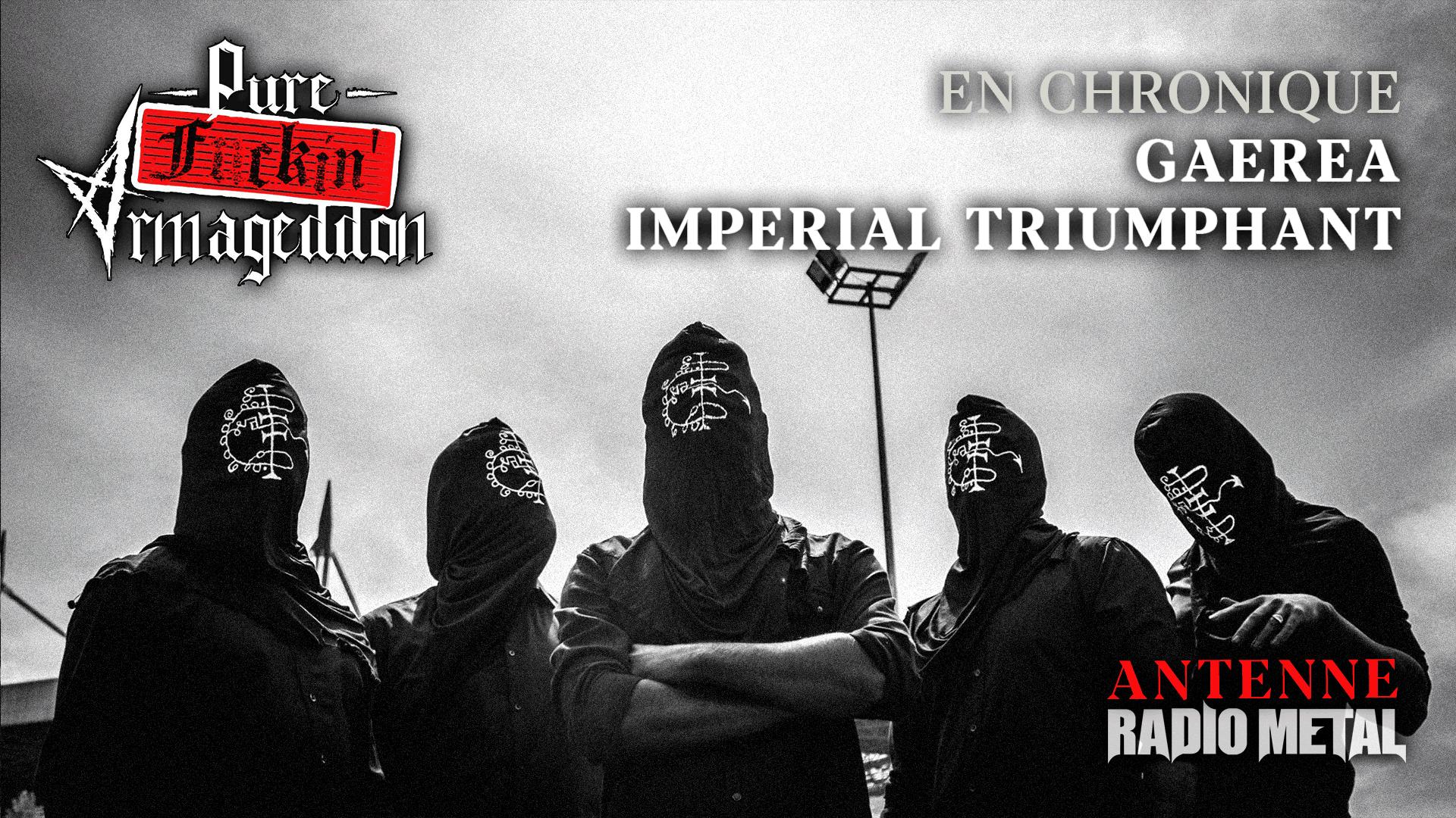 Pure Fuckin' Armageddon Gaerea Imperial Triumphant