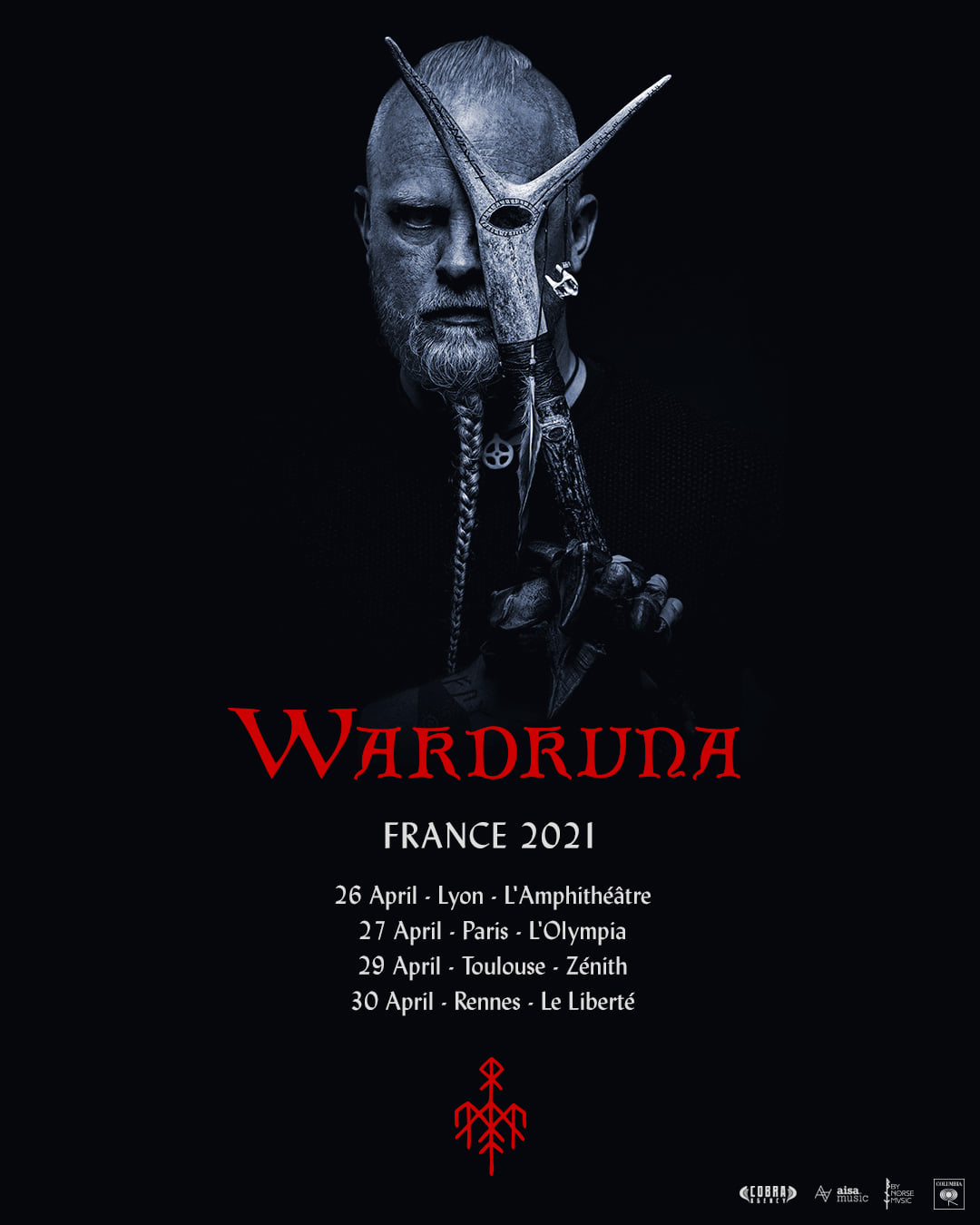 WARDRUNA de passage en France en avril 2021