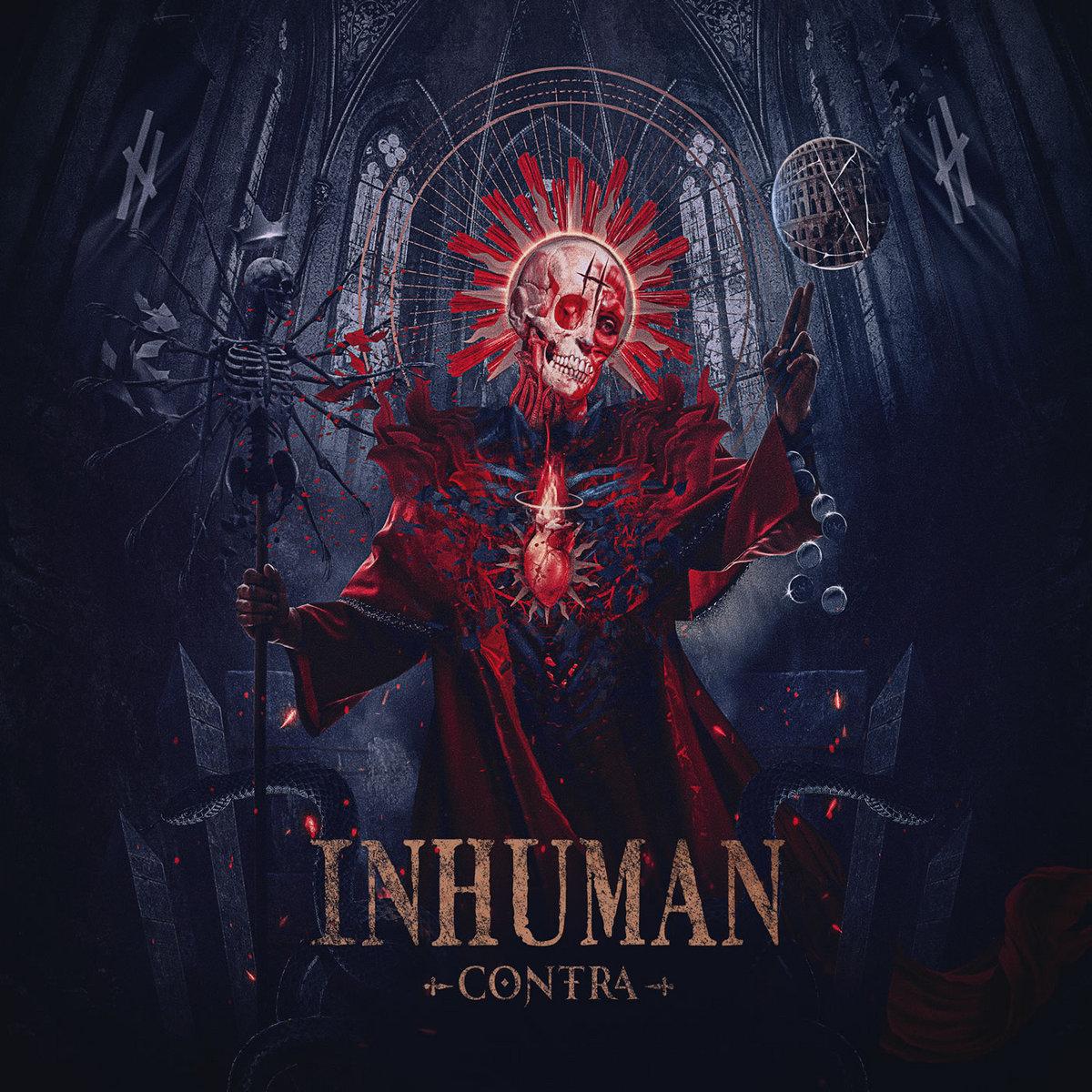 Contra INHUMAN cover artwork