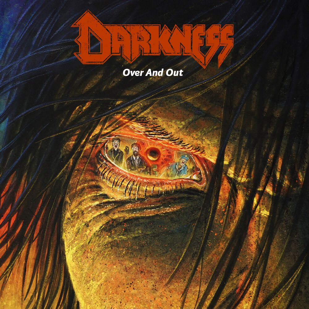 darkness over and out cover artwork