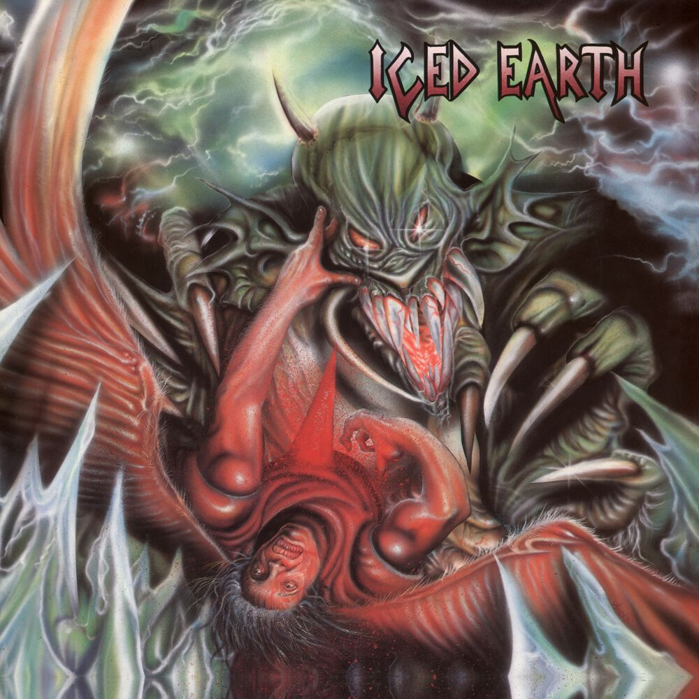 iced earth anniversary cover artwork