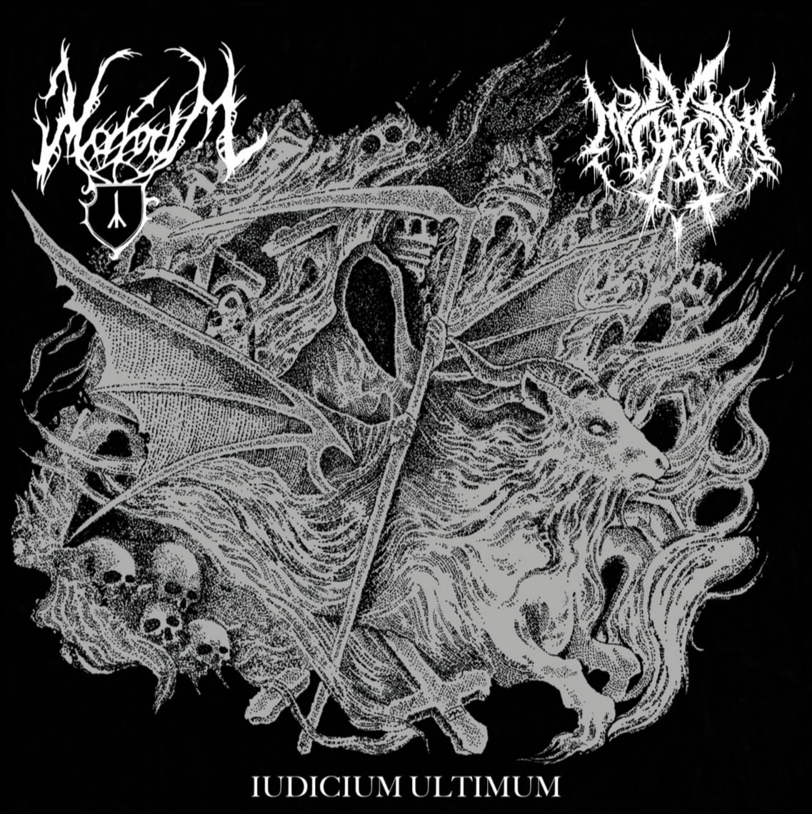 mavorim ad mortem split cover artwork