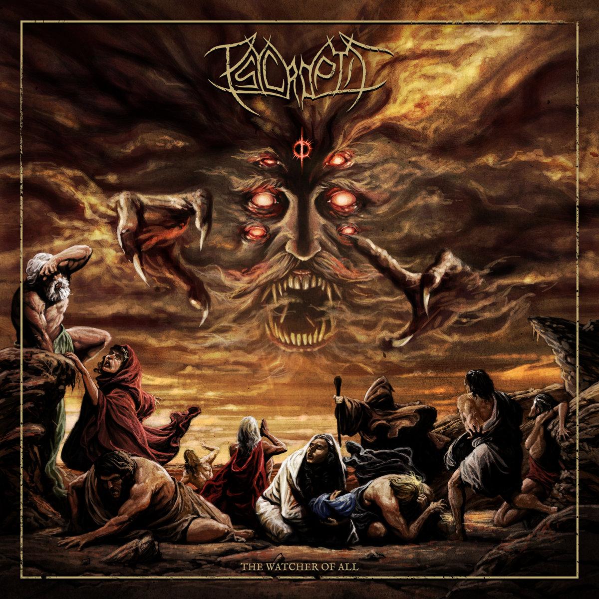 psycroptic the watcher of all album cover artwork 2020