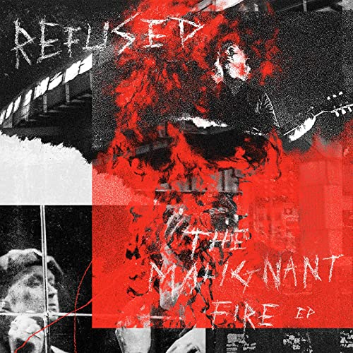 refused the malignant fire ep cover artwork