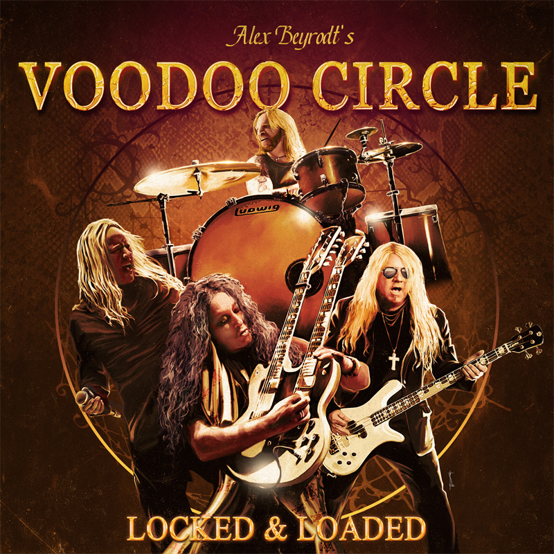 voodoo circle locked loaded cover artwork