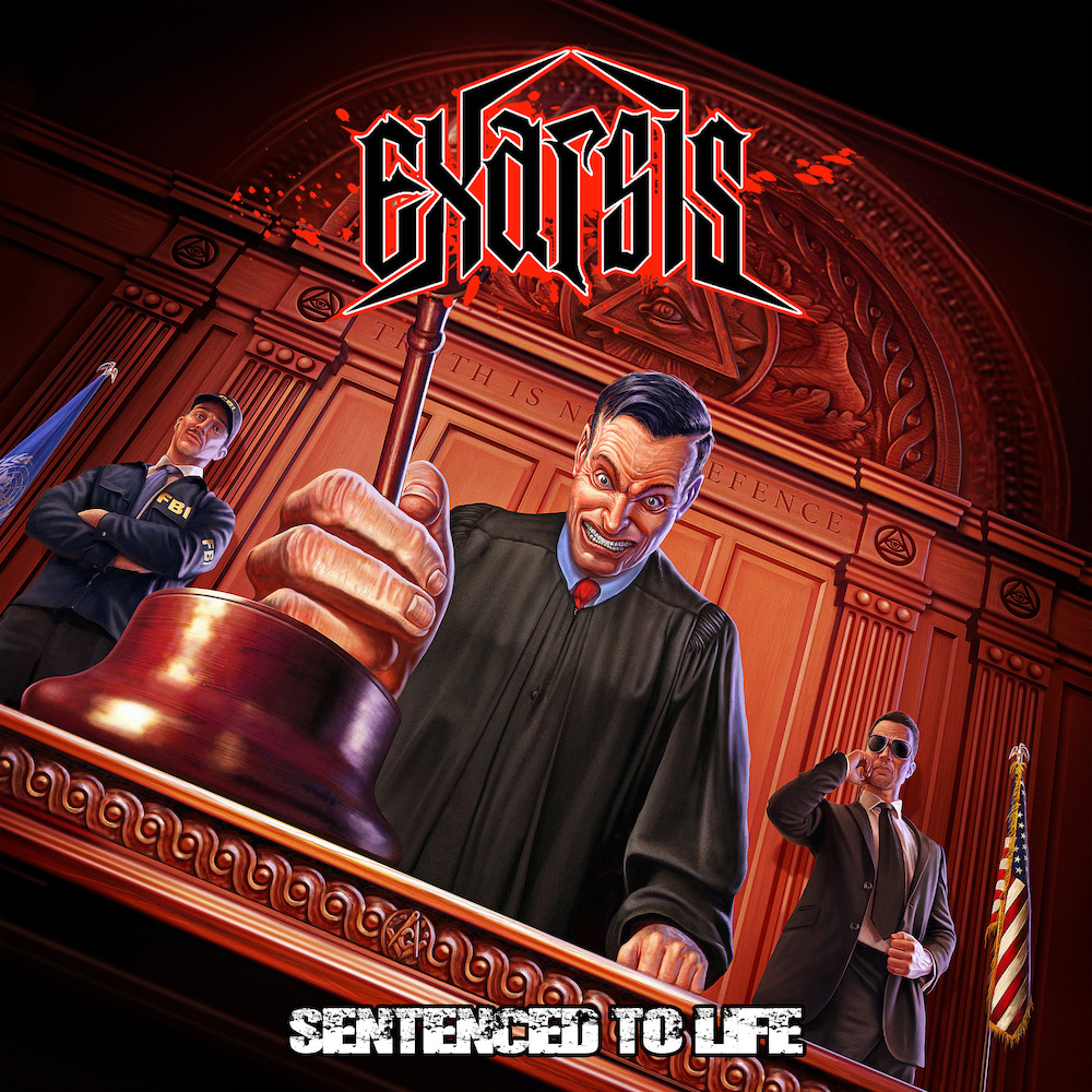 Exarsis sentenced to life cover artwork