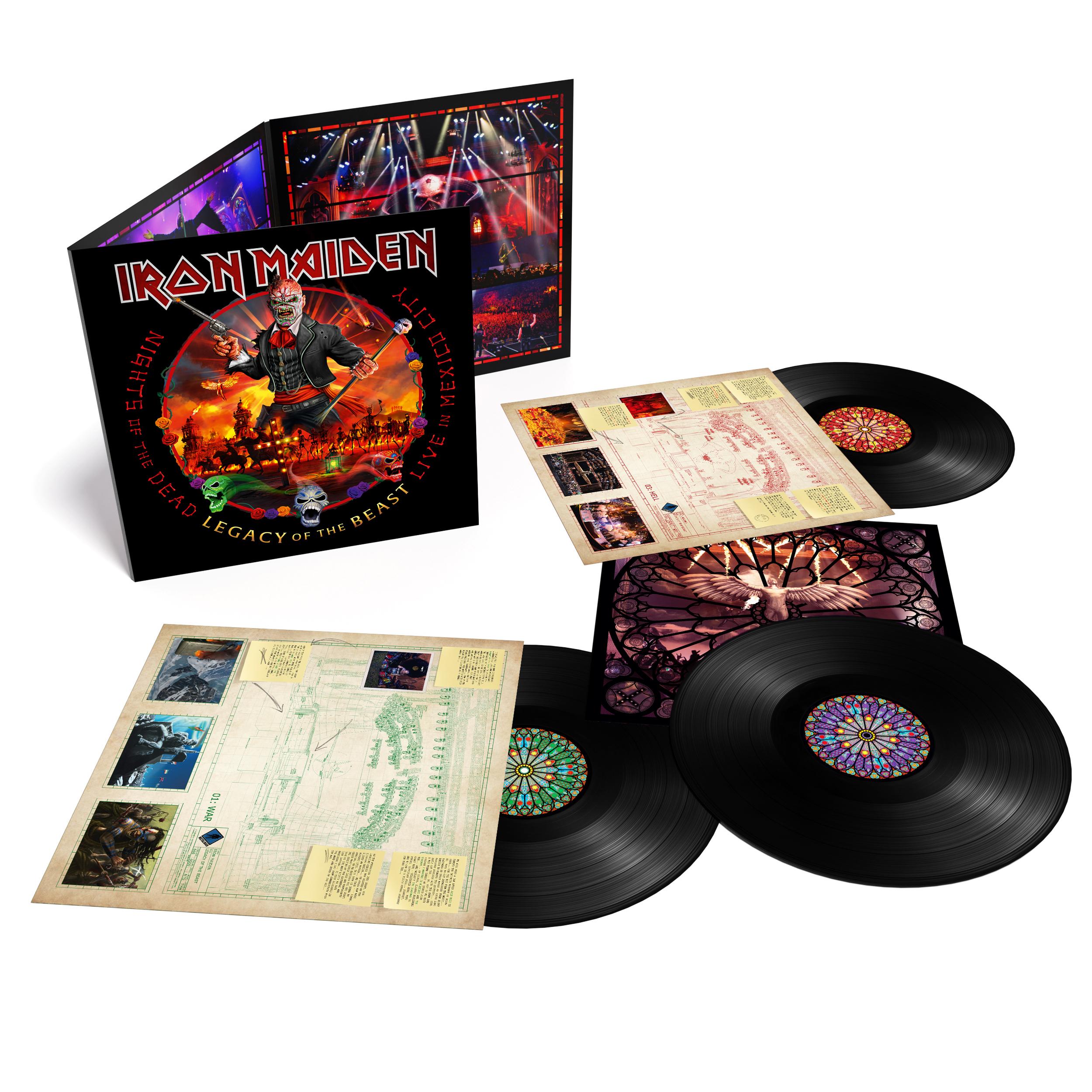 CONCOURS : remportez votre triple vinyles du nouvel album live d'IRON MAIDEN