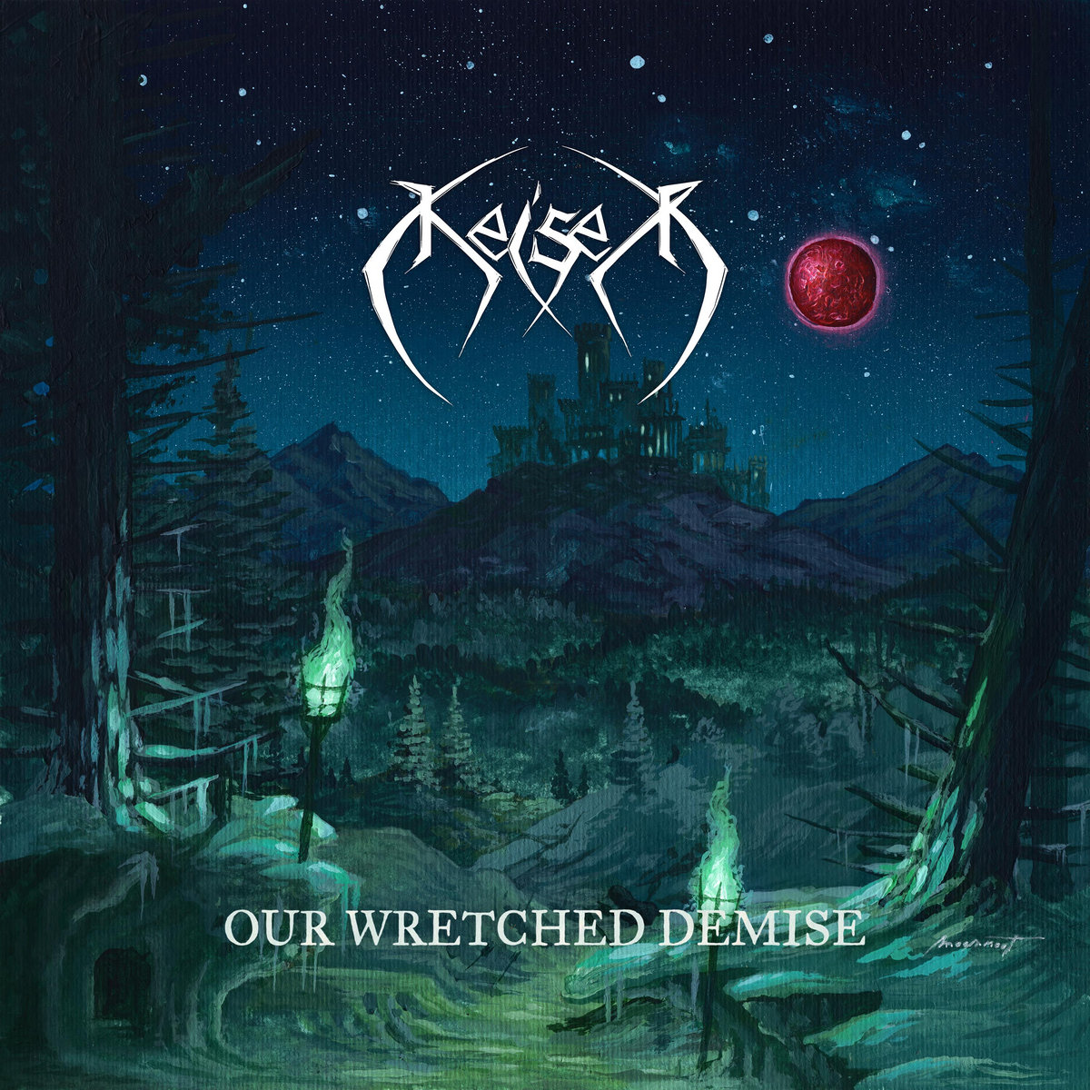 Our Wretched Demise Keiser Cover Artwork