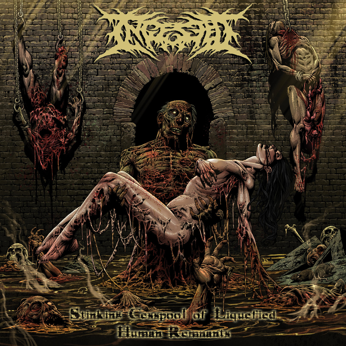 Stinking Cesspool of Liquified Human Remnants Ingested Cover Artwork