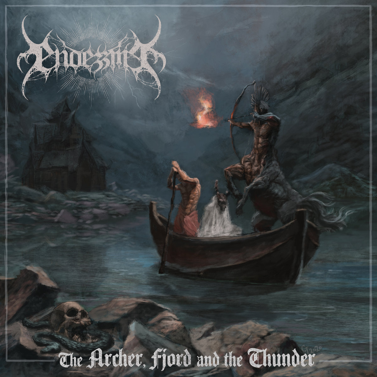 The Archer, Fjord And The Thunder ENDEZZMA cover artwork