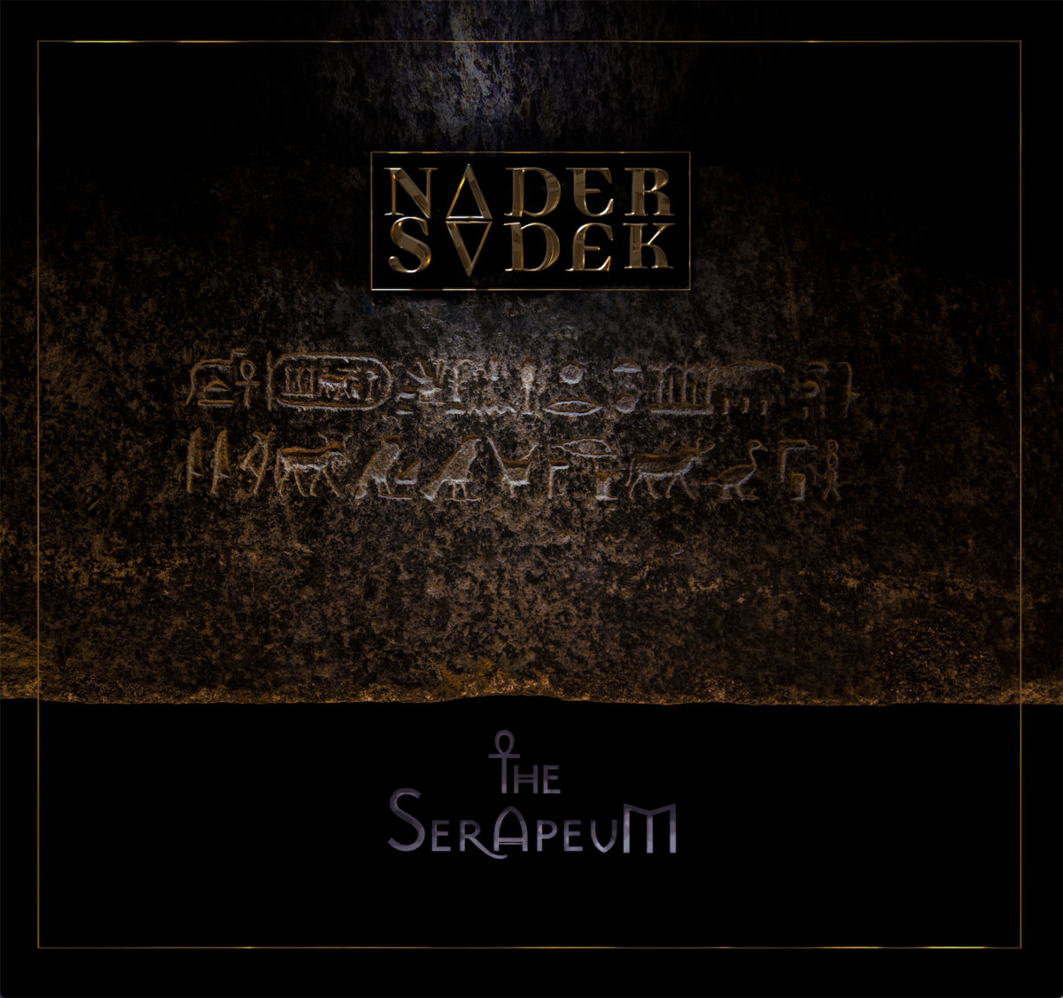 The Serapeum Nader Sadek Cover Artwork