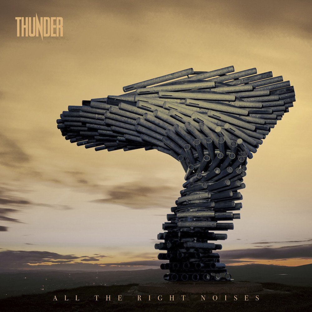 Thunder ALL THE RIGHT NOISES cover artwork
