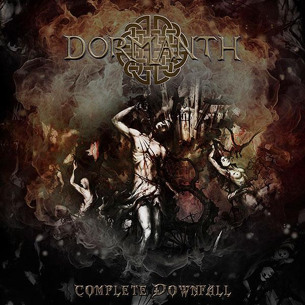 dormanth complete downfall album cover artwork 2020