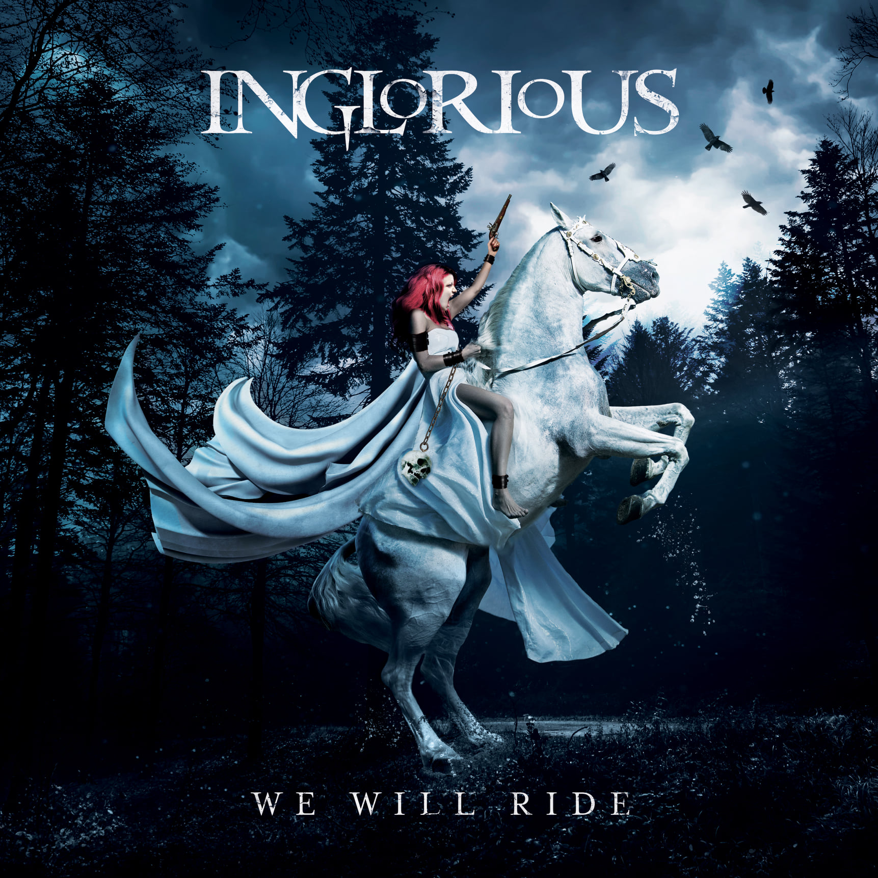 inglorious we will ride cover artwork