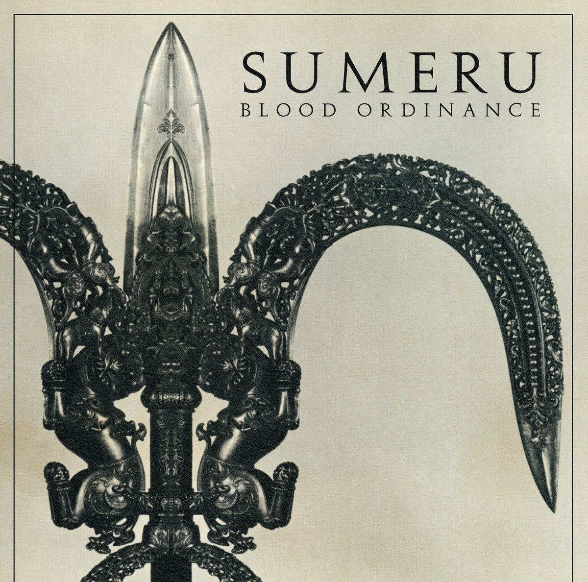 Blood Ordinance Sumeru Album Cover Artwork