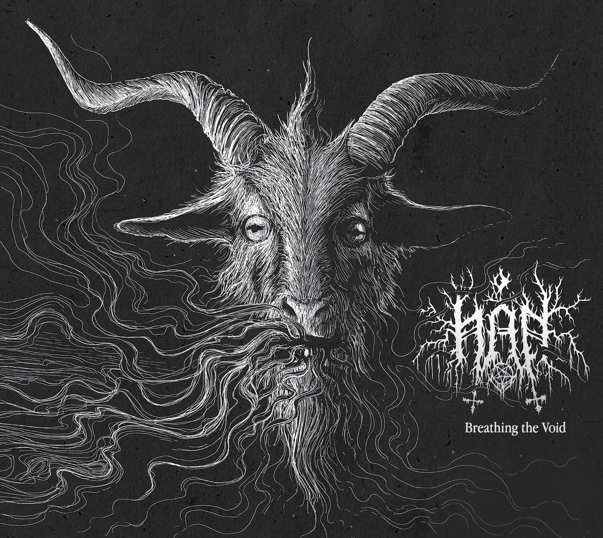 Hån Breathing The Void Album Cover Artwork