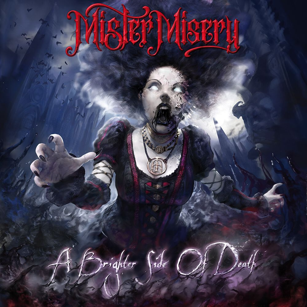 Mister Misery A Brighter Side Of Death Album Cover Artwork