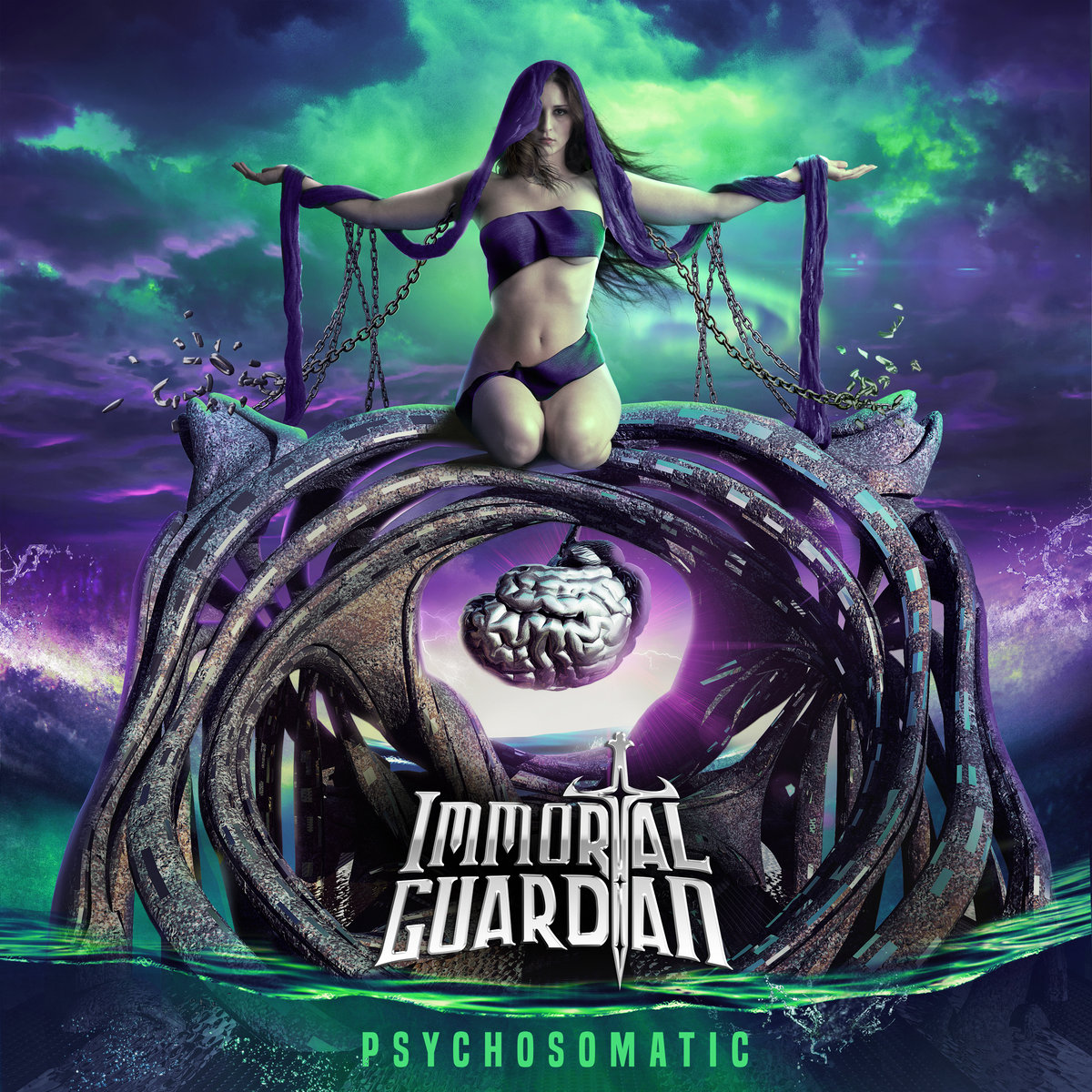 Psychosomatic Immortal Guardian Album Cover Artwork