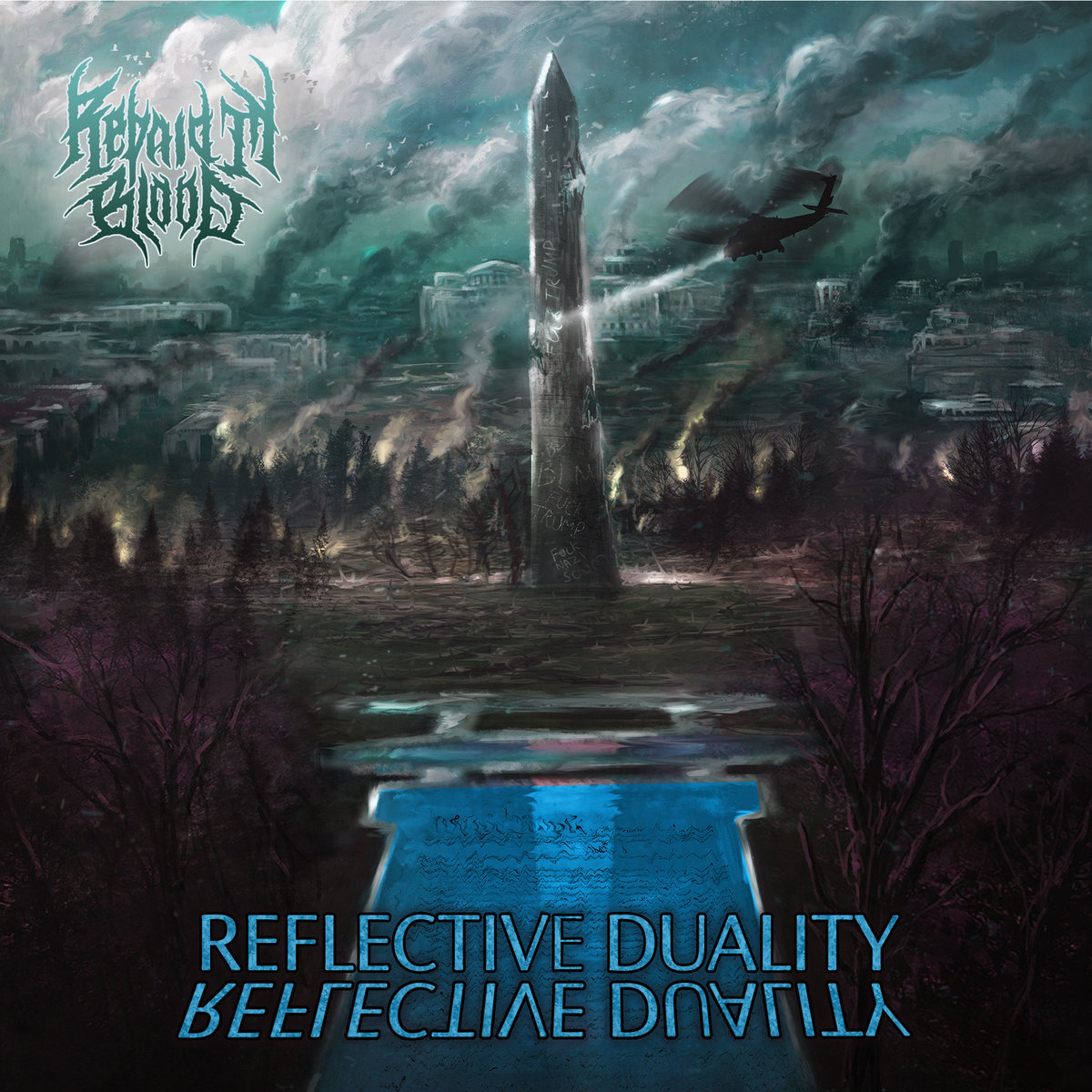 Reflective Duality Repaid in Blood Album Cover Artwork