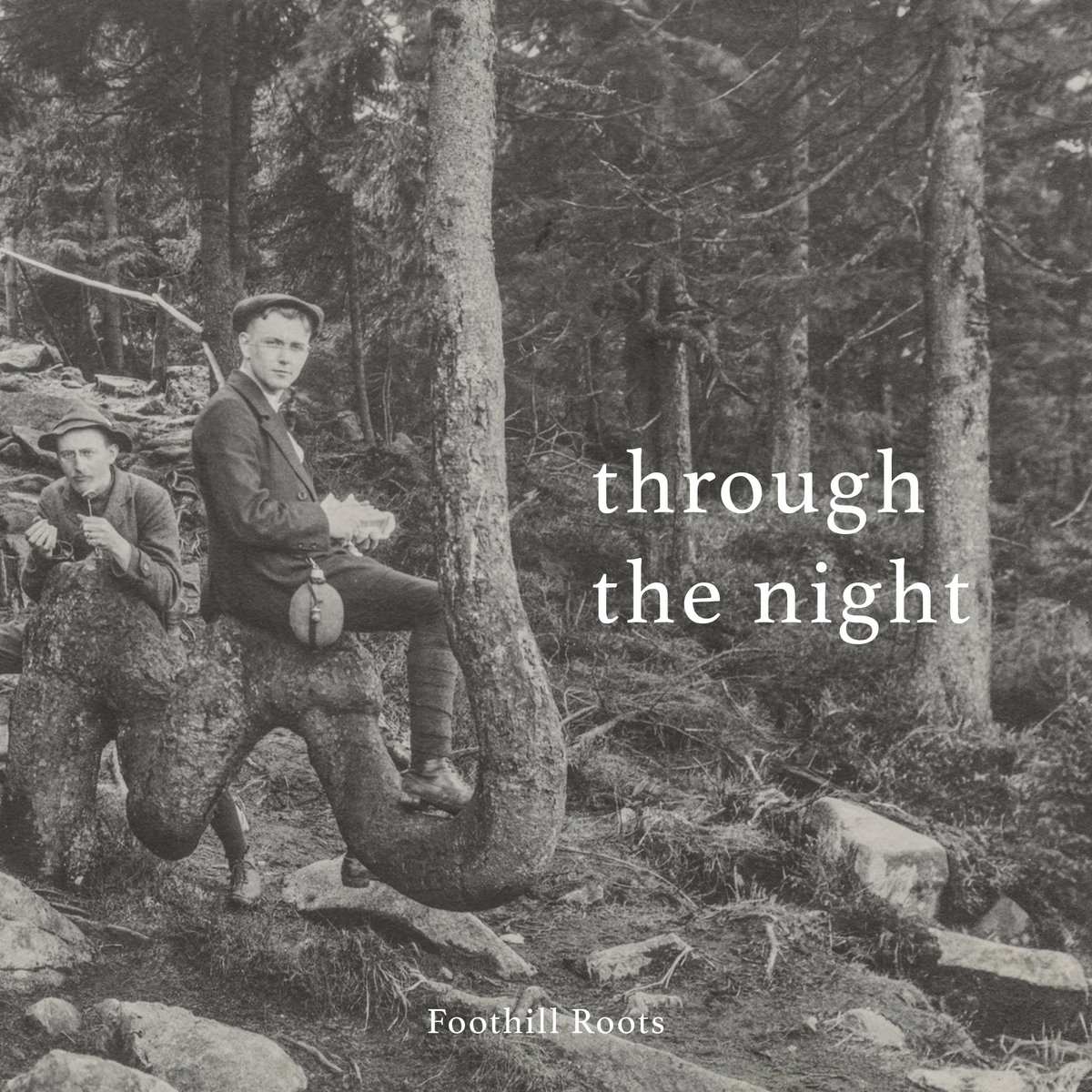 Through The Night Foothill Roots Album Cover Artwork