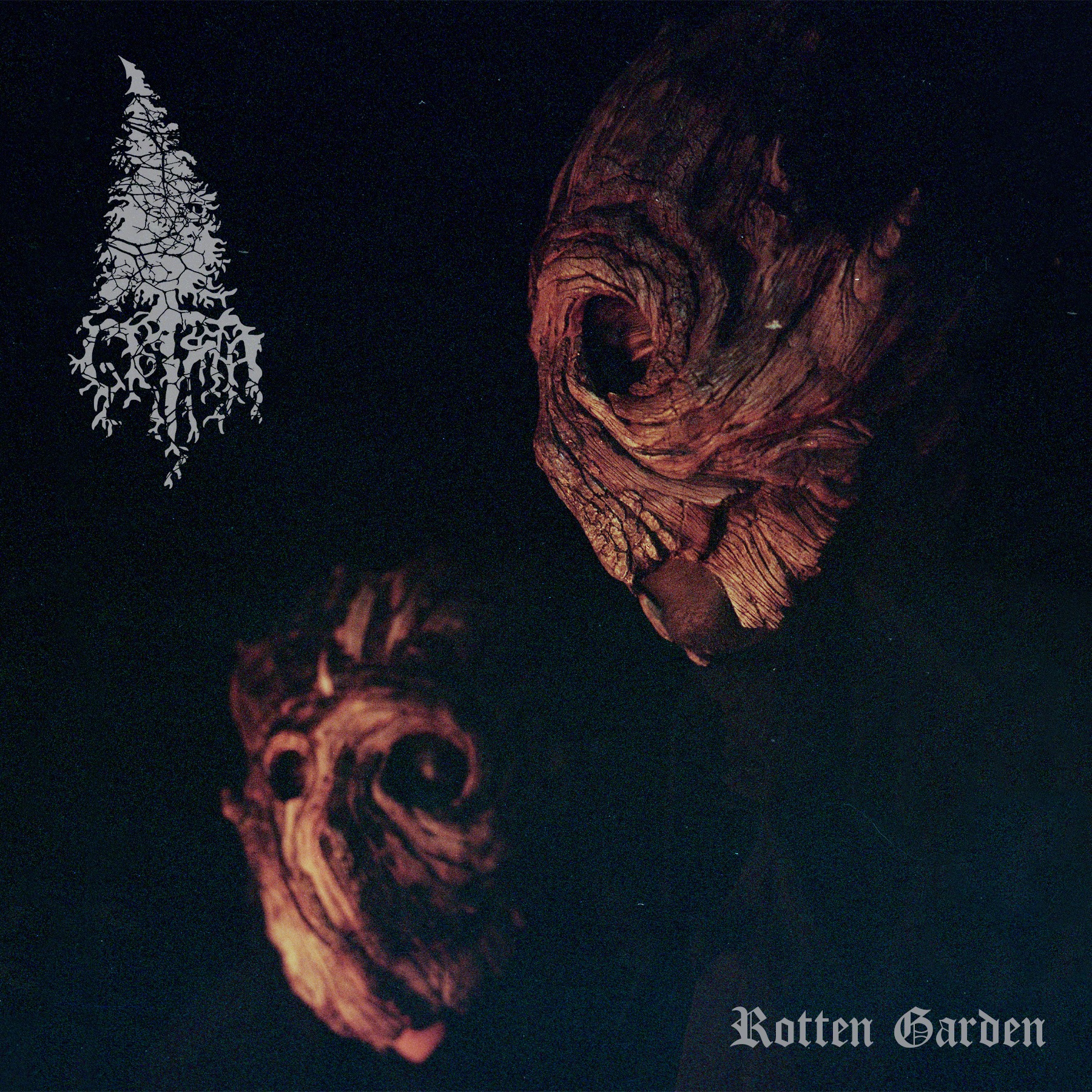 grima rotten garden album cover artwork