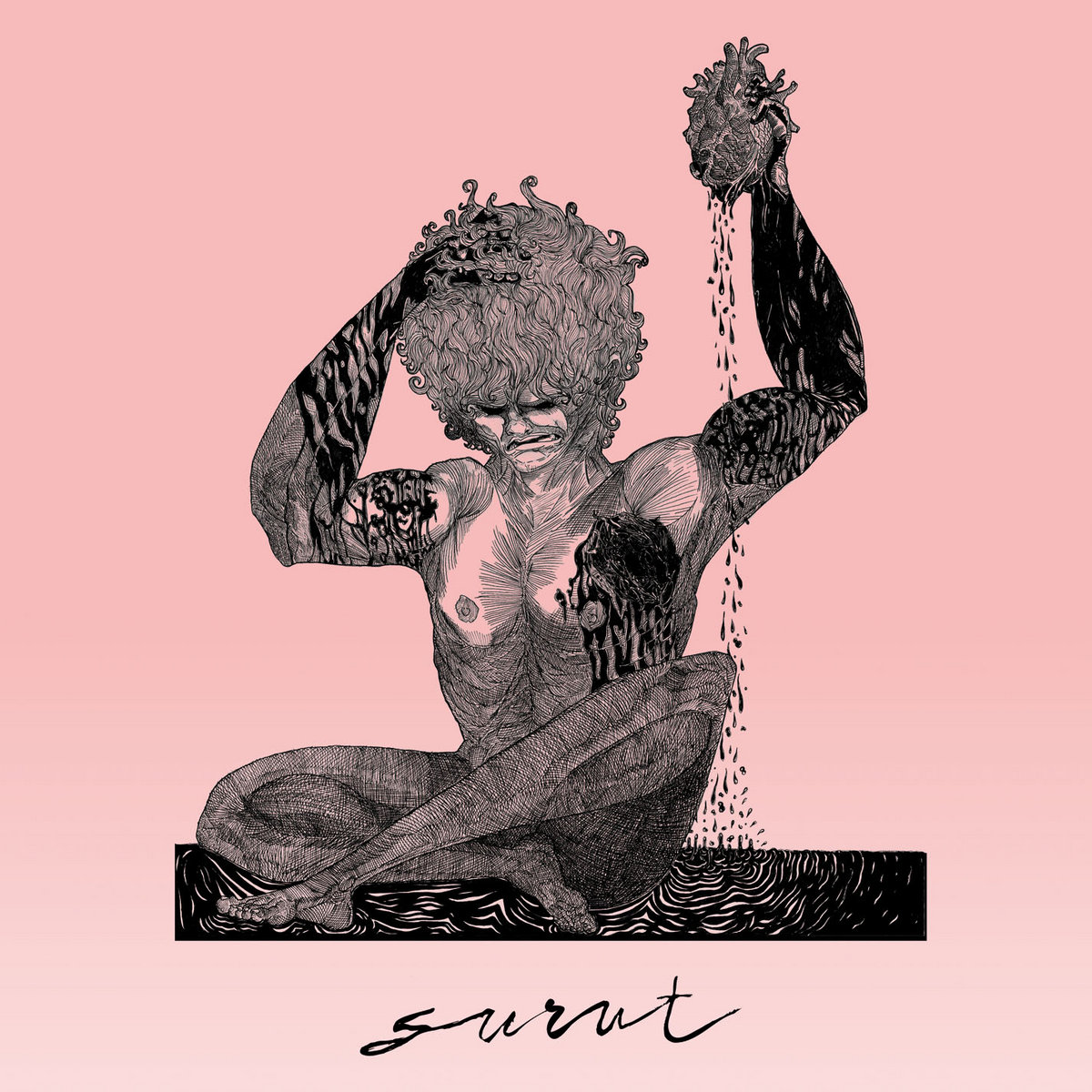 surut album cover artwork
