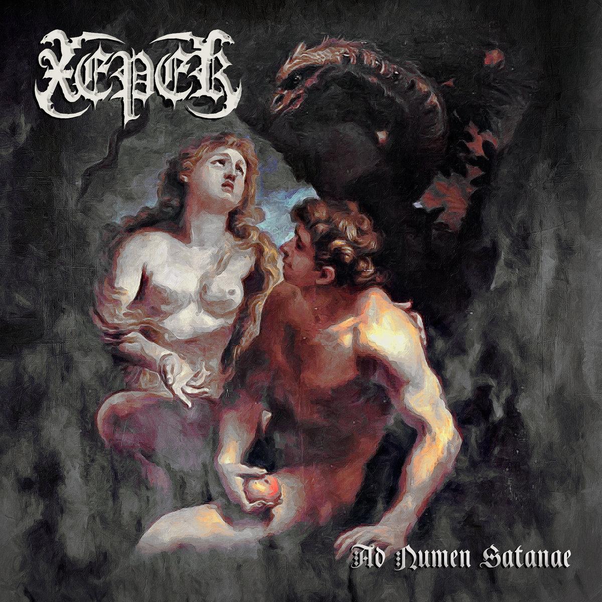 Ad Numen Satanae Xeper Album Cover Artwork