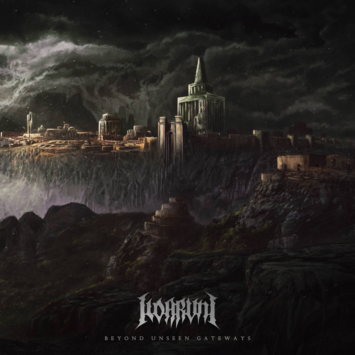 Beyond Unseen Gateways Ildaruni Album Cover Artwork
