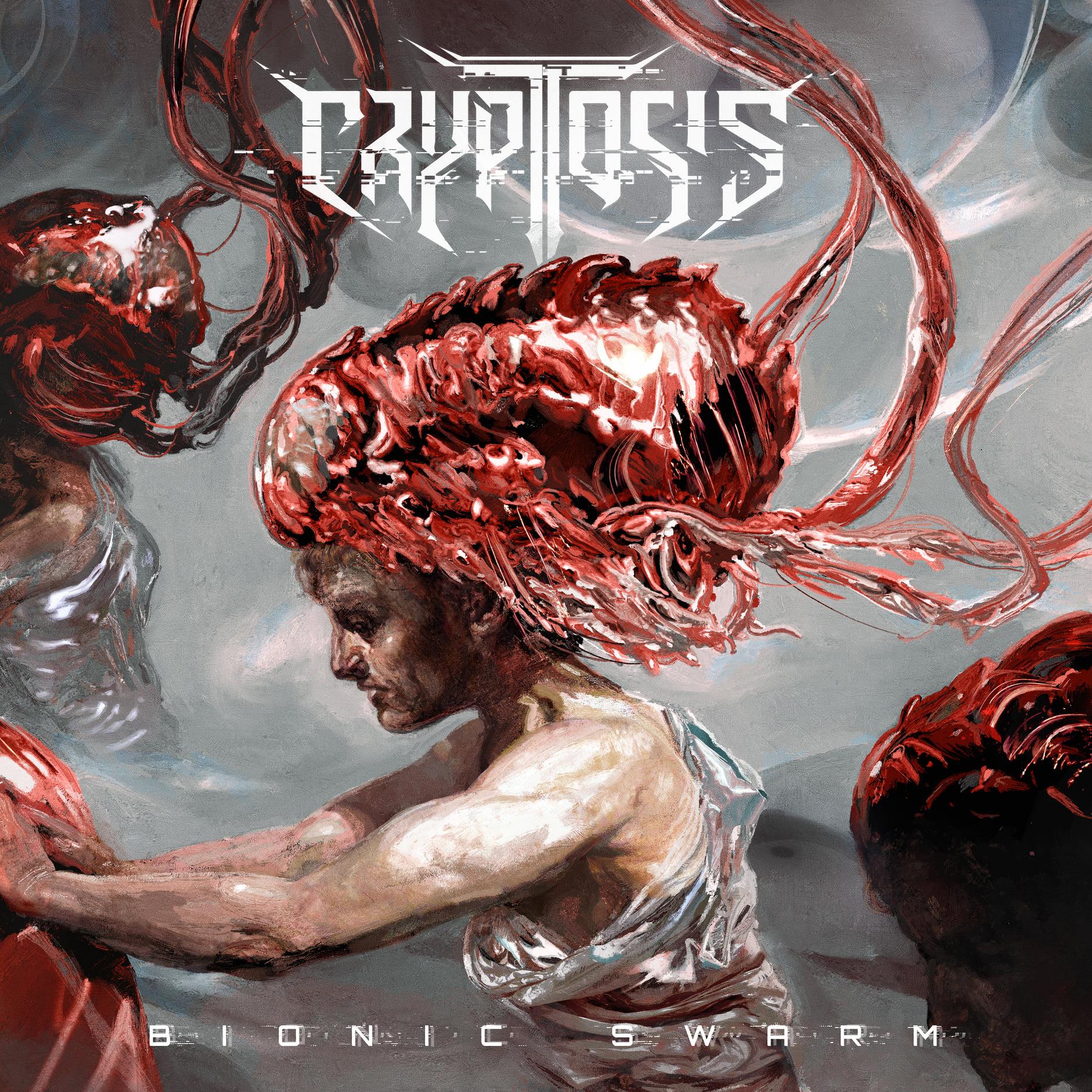 Cryptosis Bionic Swarm Eliran Kantor Album Cover Artwork