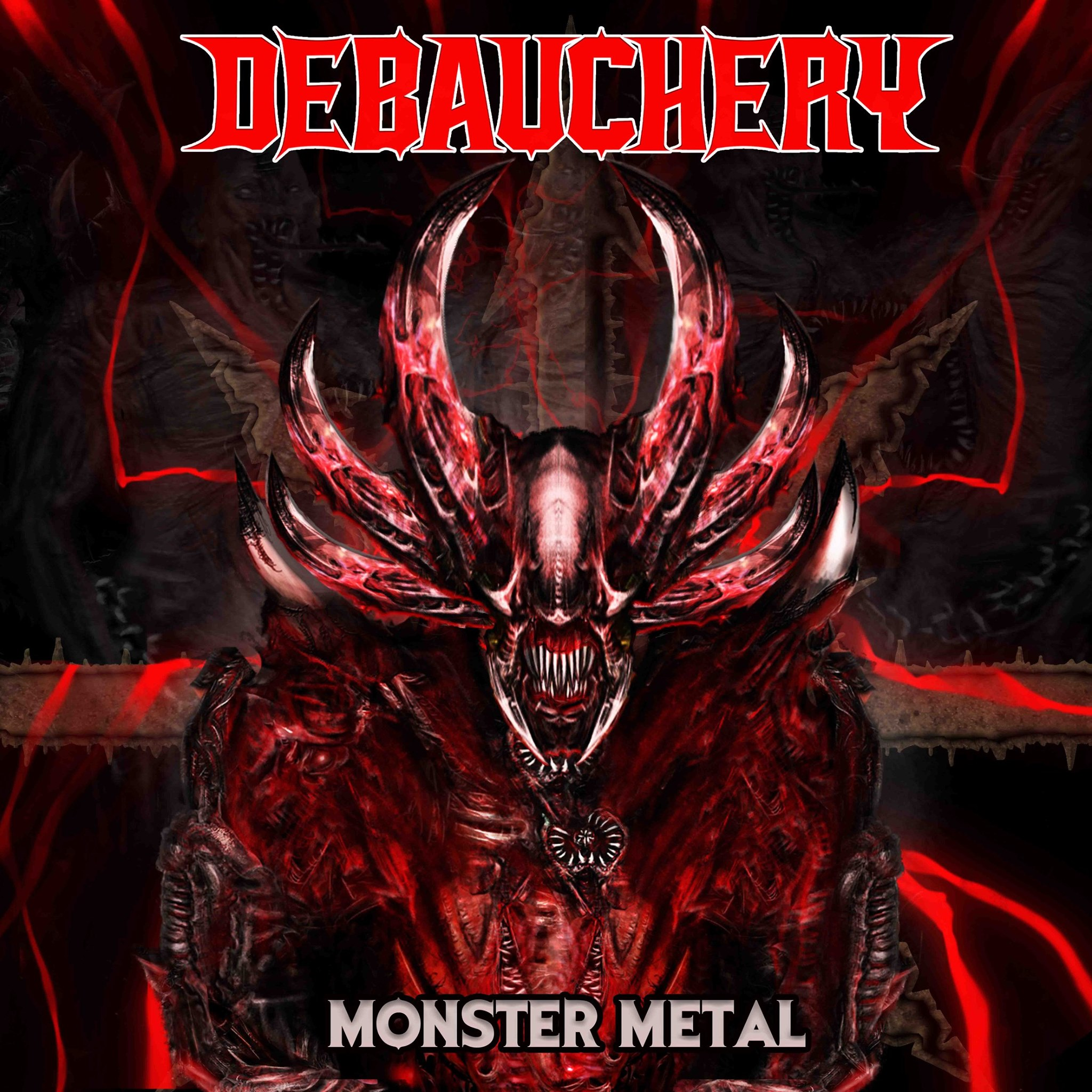 Debauchery Monster Metal Album Cover Artwork