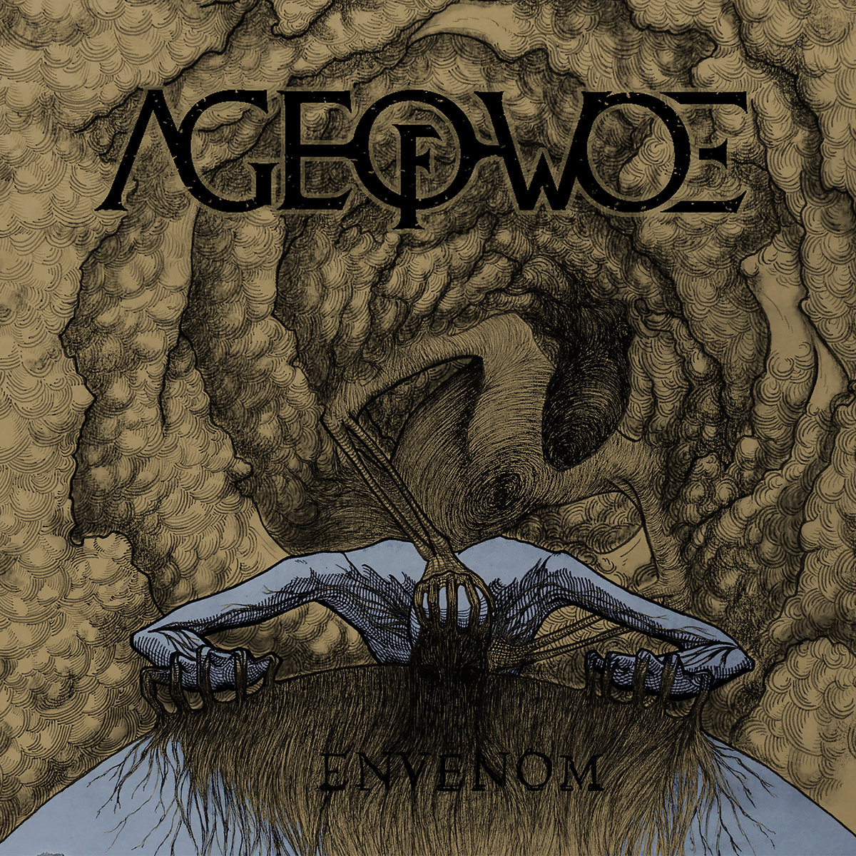 Envenom Age of Woe Album Cover Artwork