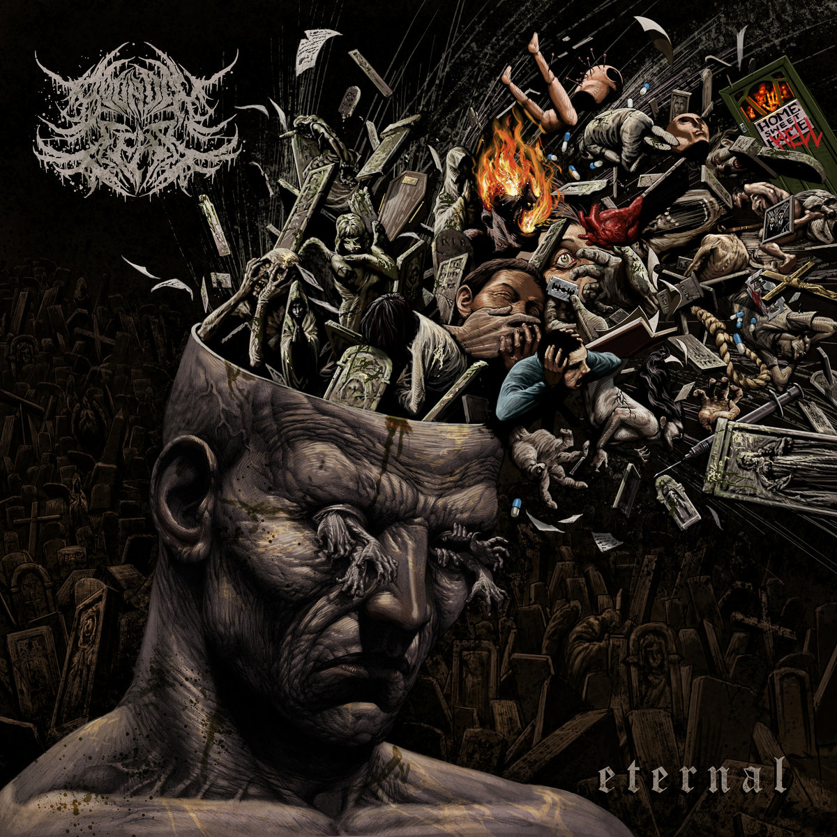 Eternal Bound in Fear Album Cover Artwork 2021