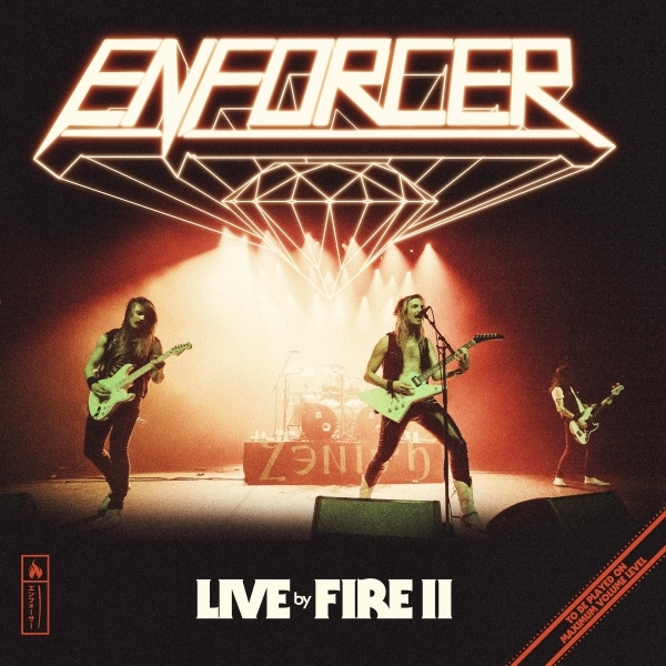 Live by Fire II Enforcer Album Cover Artwork 2021
