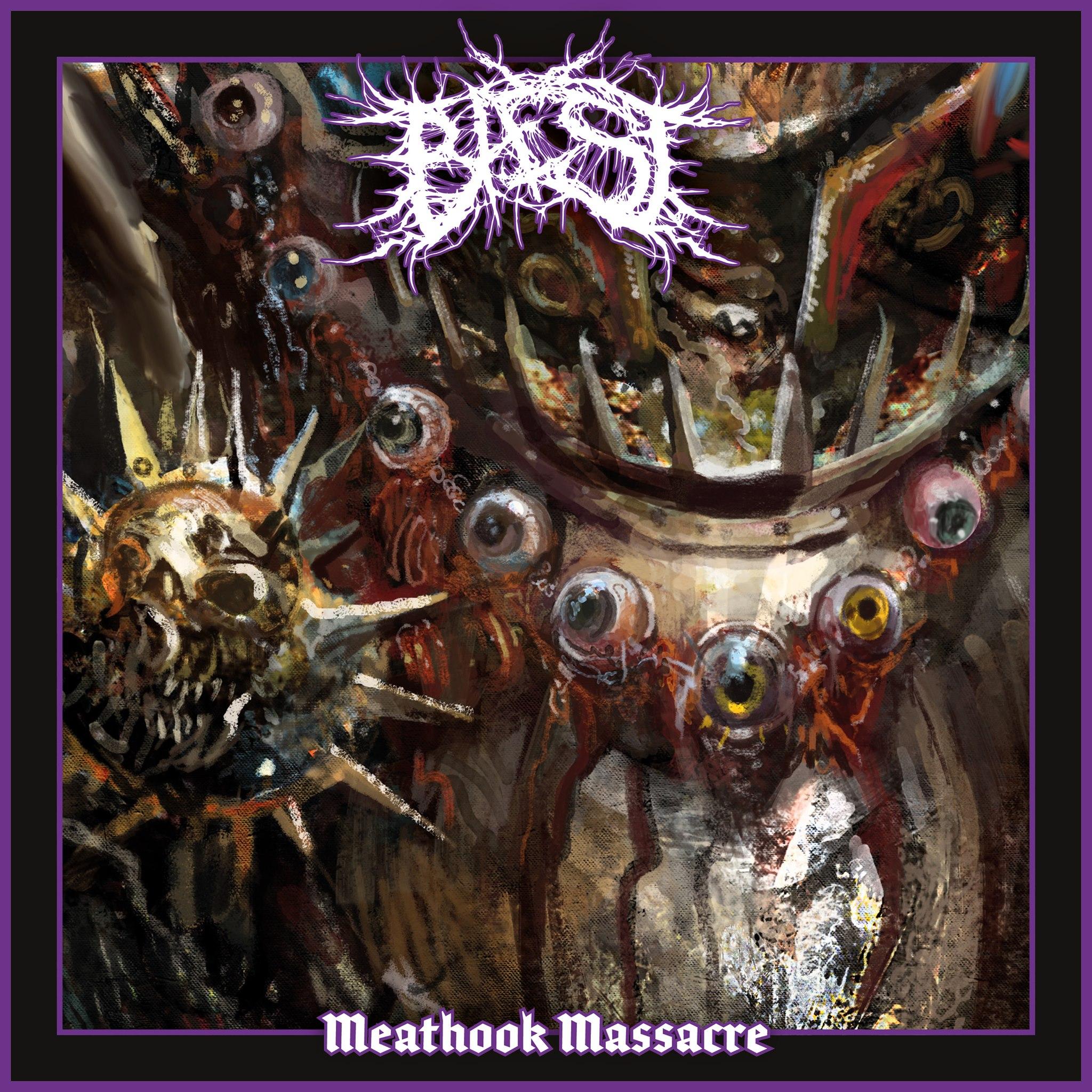 Meathook Massacre Baest Single Cover Artwork