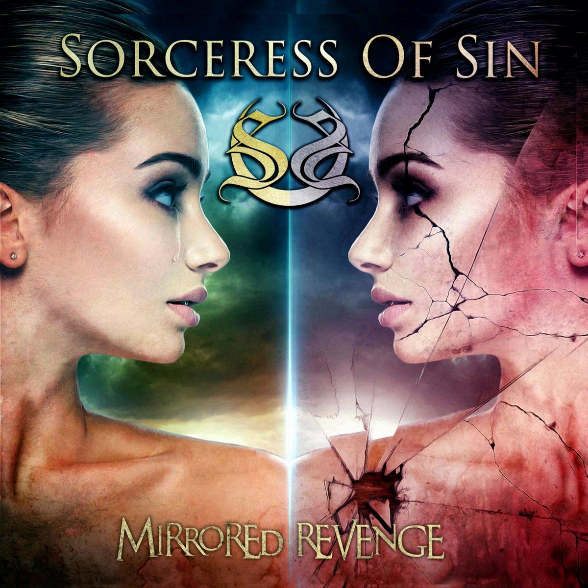 Mirrored Revenge Sorceress of Sin Album Cover Artwork 2020