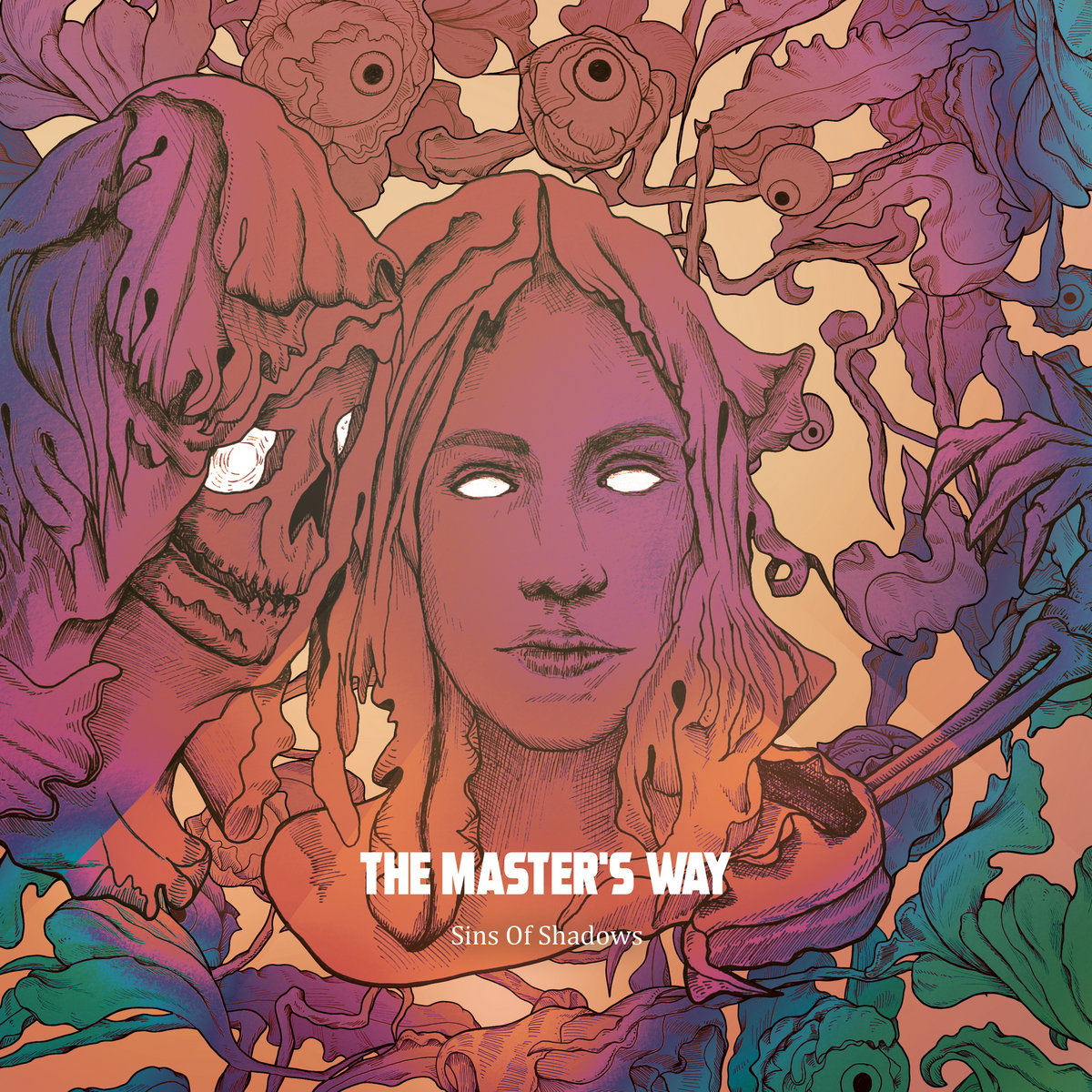 The Master's Way Sins Of Shadows Album Cover Artwork