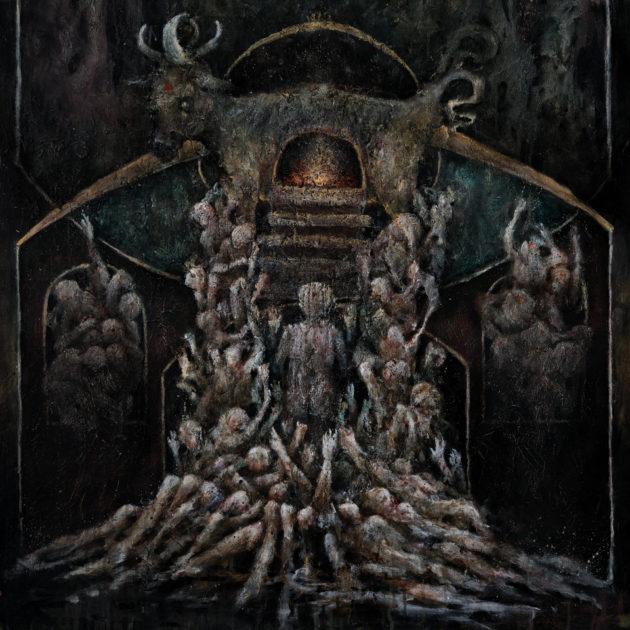 fuoco fatuo obsidian katabasis album cover artwork