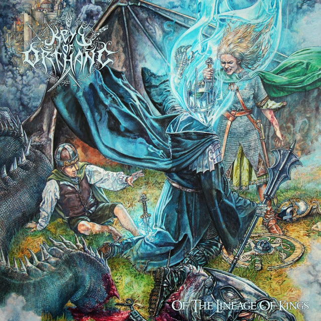 keys of orthanc of the lineage of kings album cover artwork
