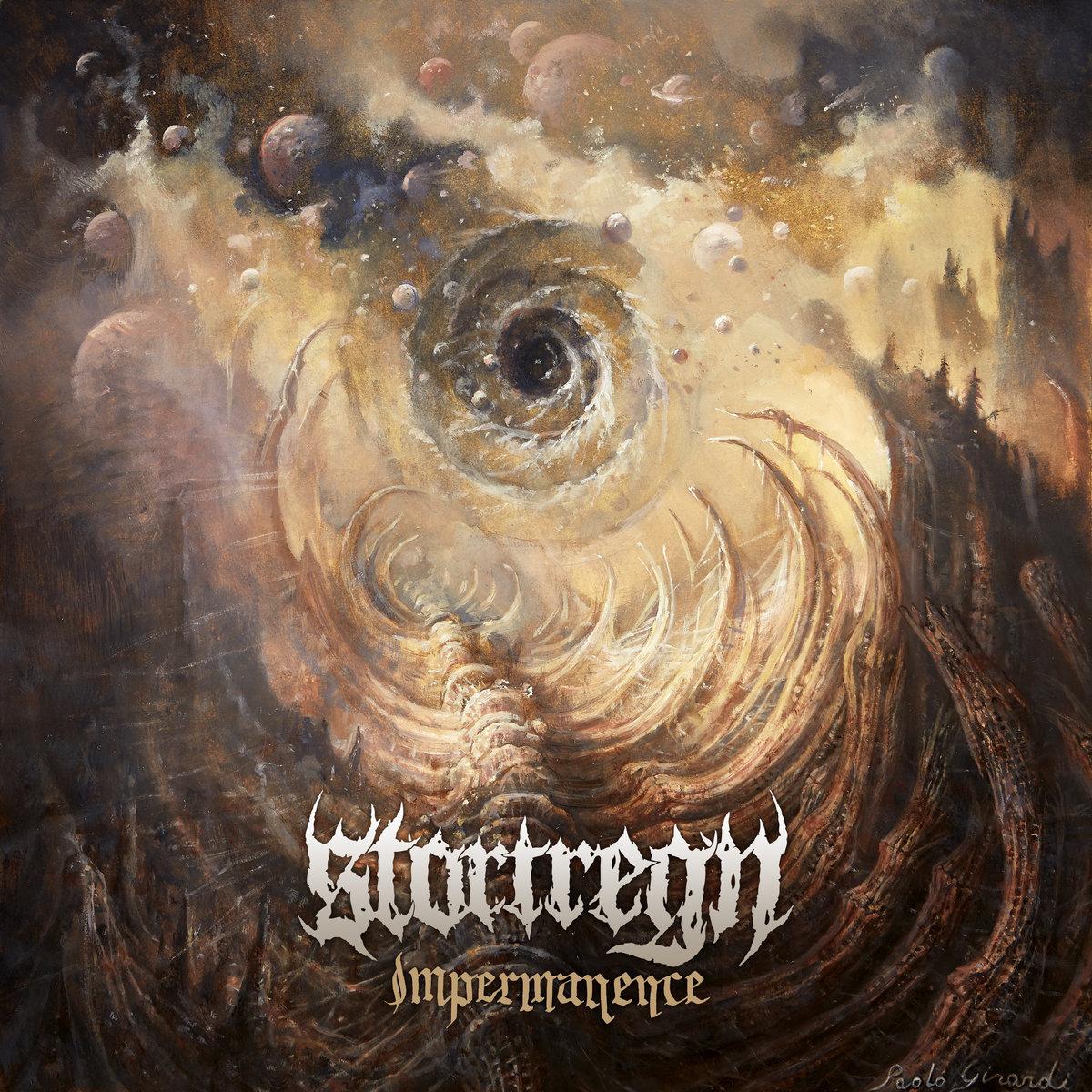 STORTREGN Impermanence Album Cover Artwork