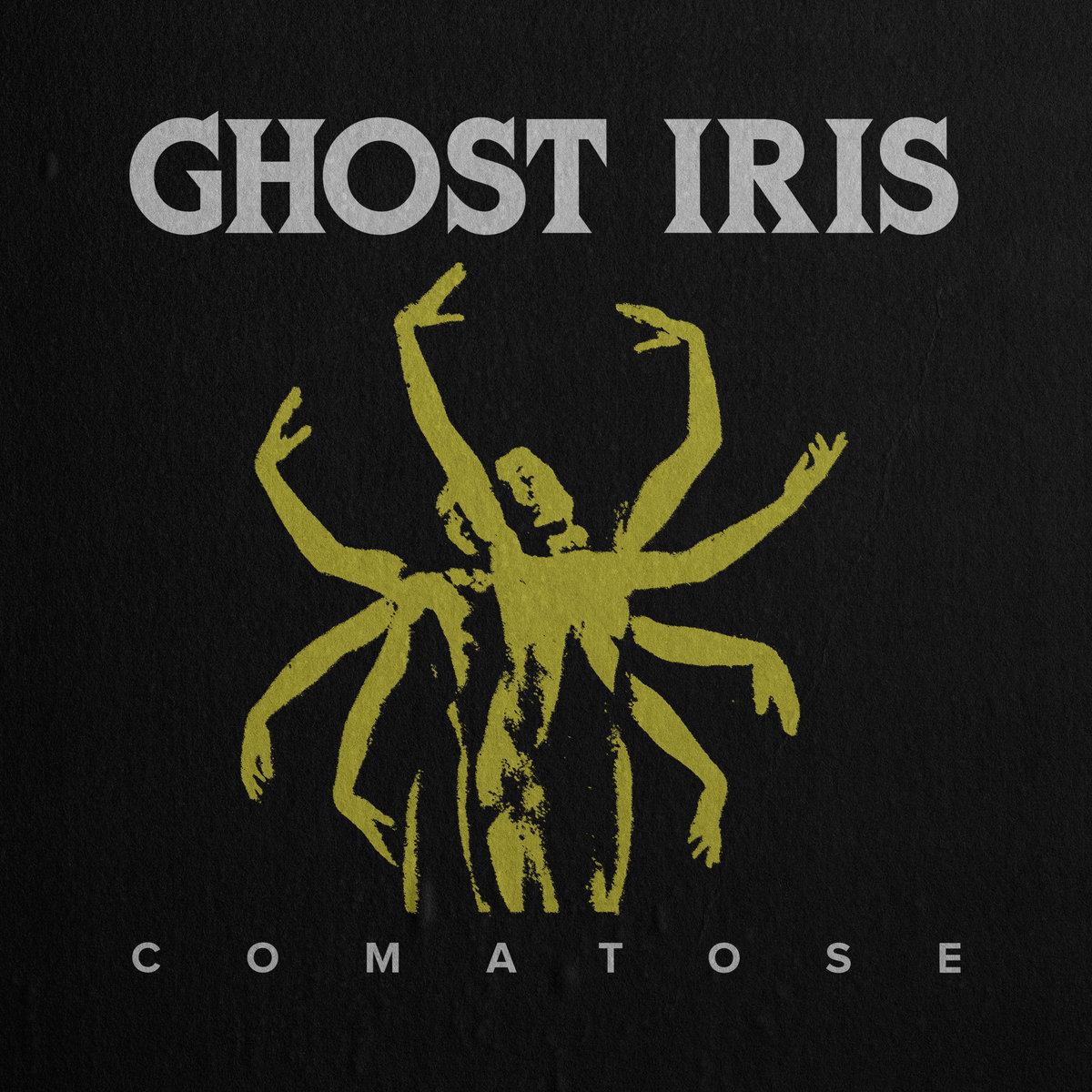 Ghost Iris Comatose Album Cover Artwork