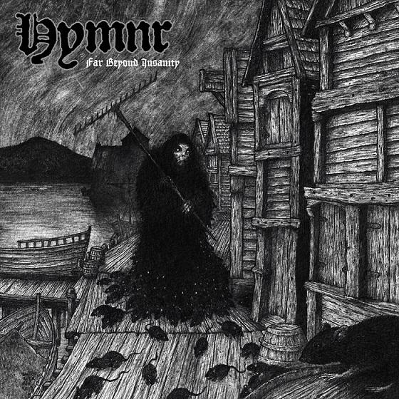 Hymnr Far Beyond Insanity Album Cover Artwork