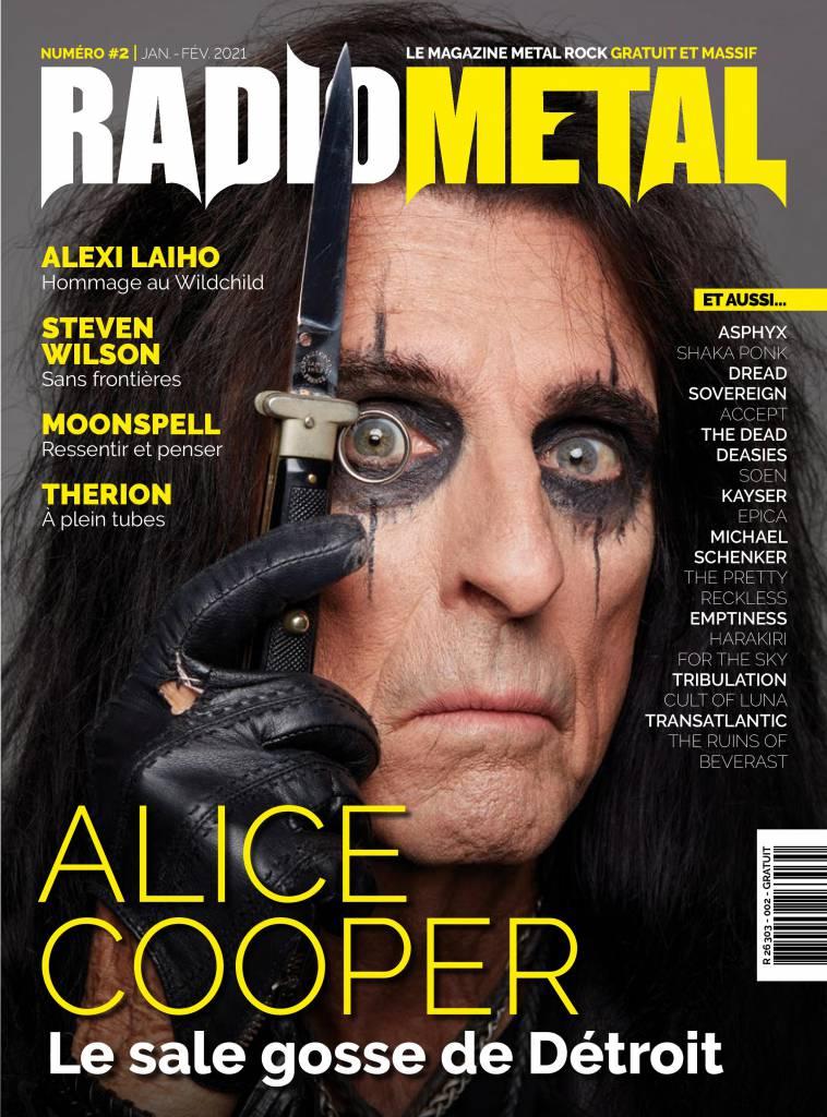 Magazine Radio Metal : numéro 2 disponible