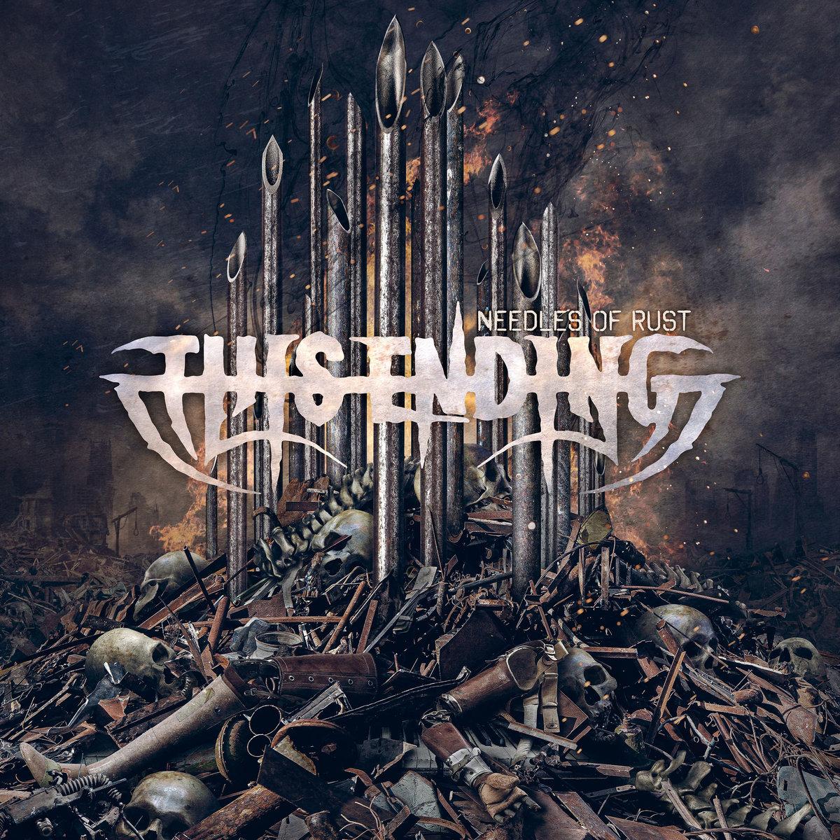 Needles Of Rust This Ending Album Cover Artwork