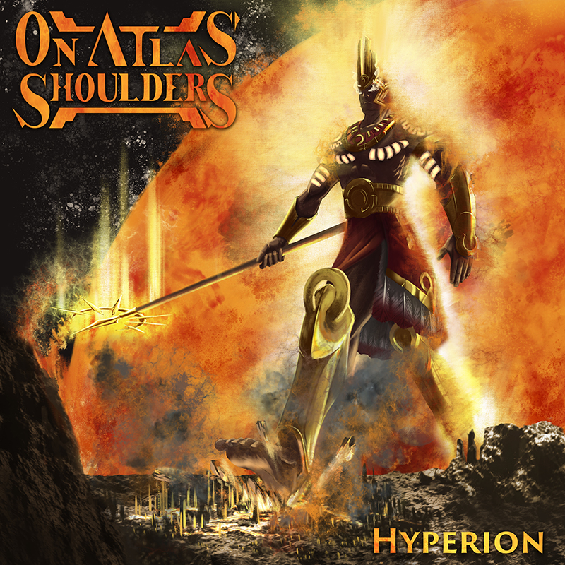 On Atlas' Shoulders Hyperion Album Cover Artwork
