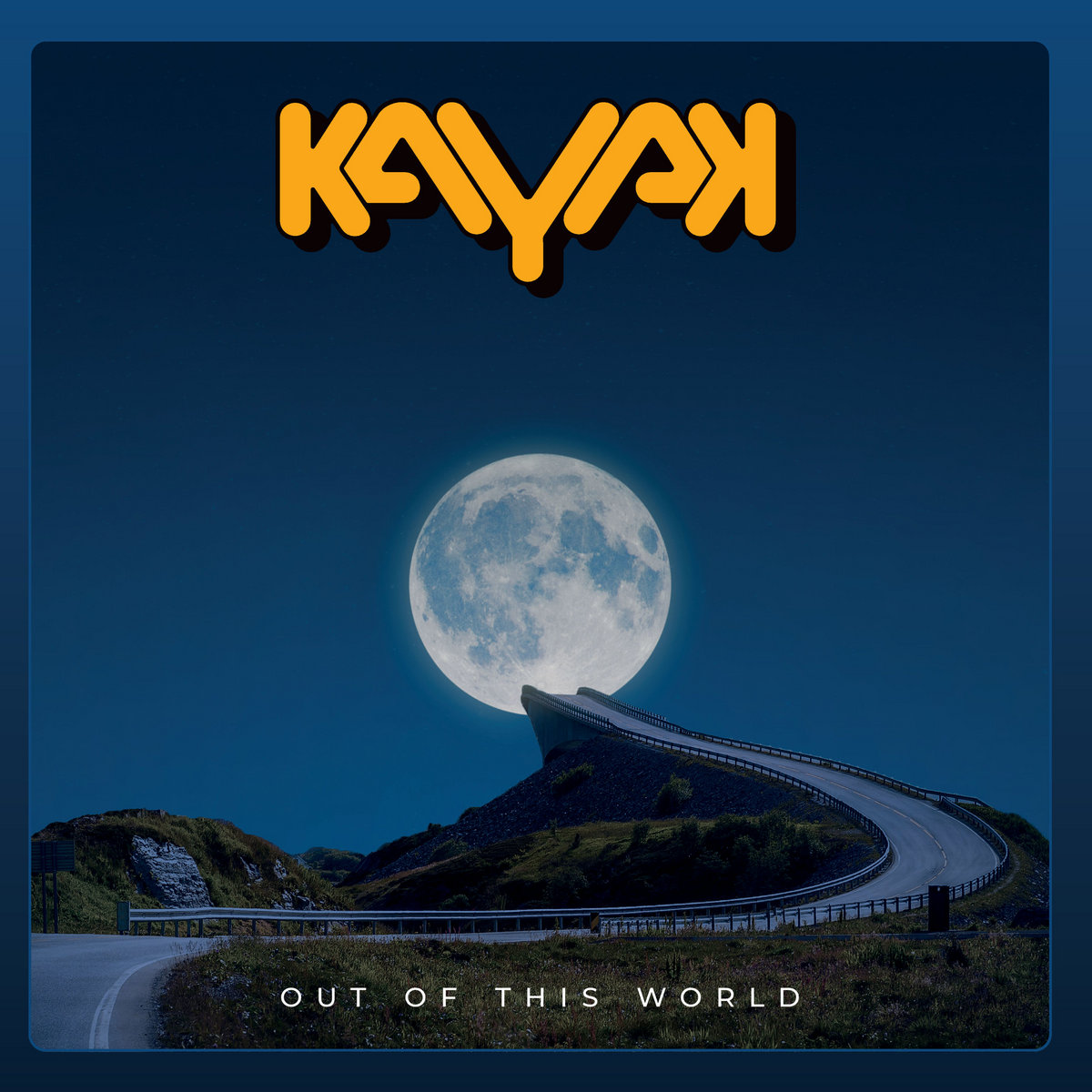 Out Of This World Kayak Album Cover Artwork